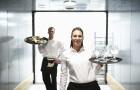 Beställa catering till konferens